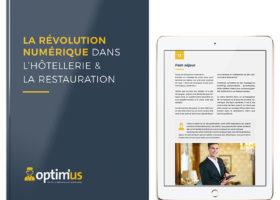 couverture livre blanc optim'us hotellerie restauration révolution numérique